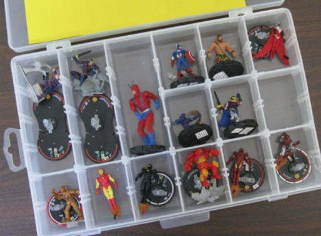 Heroclix Compartments