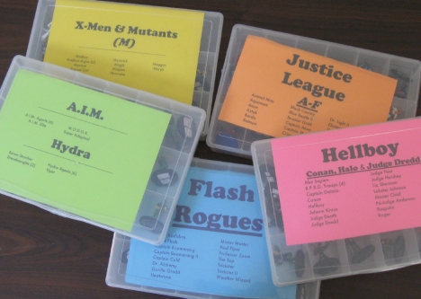 Heroclix Label Assortment
